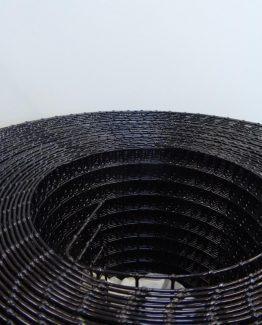 Volierendraht schwarz pulverbeschichtet